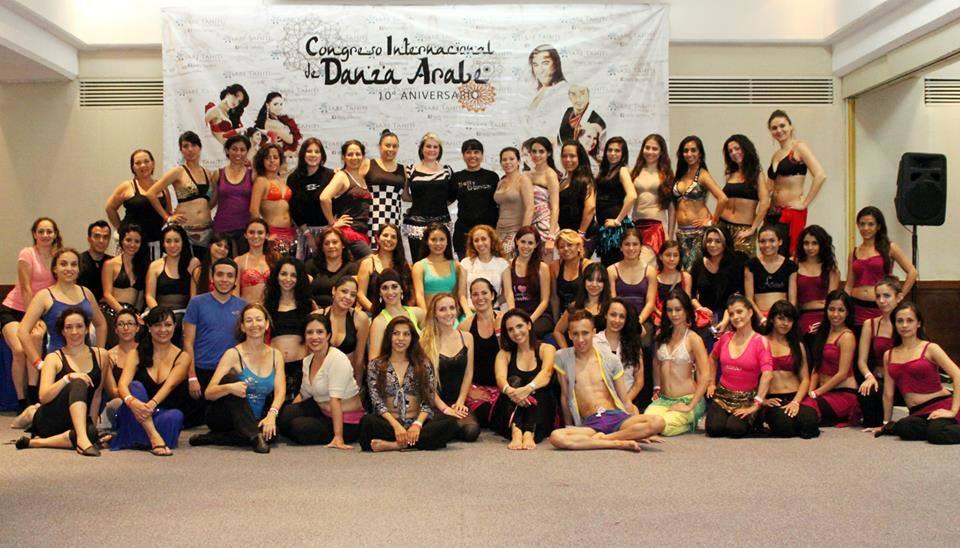 Group dancers bellydance internacional in puerto vallarta